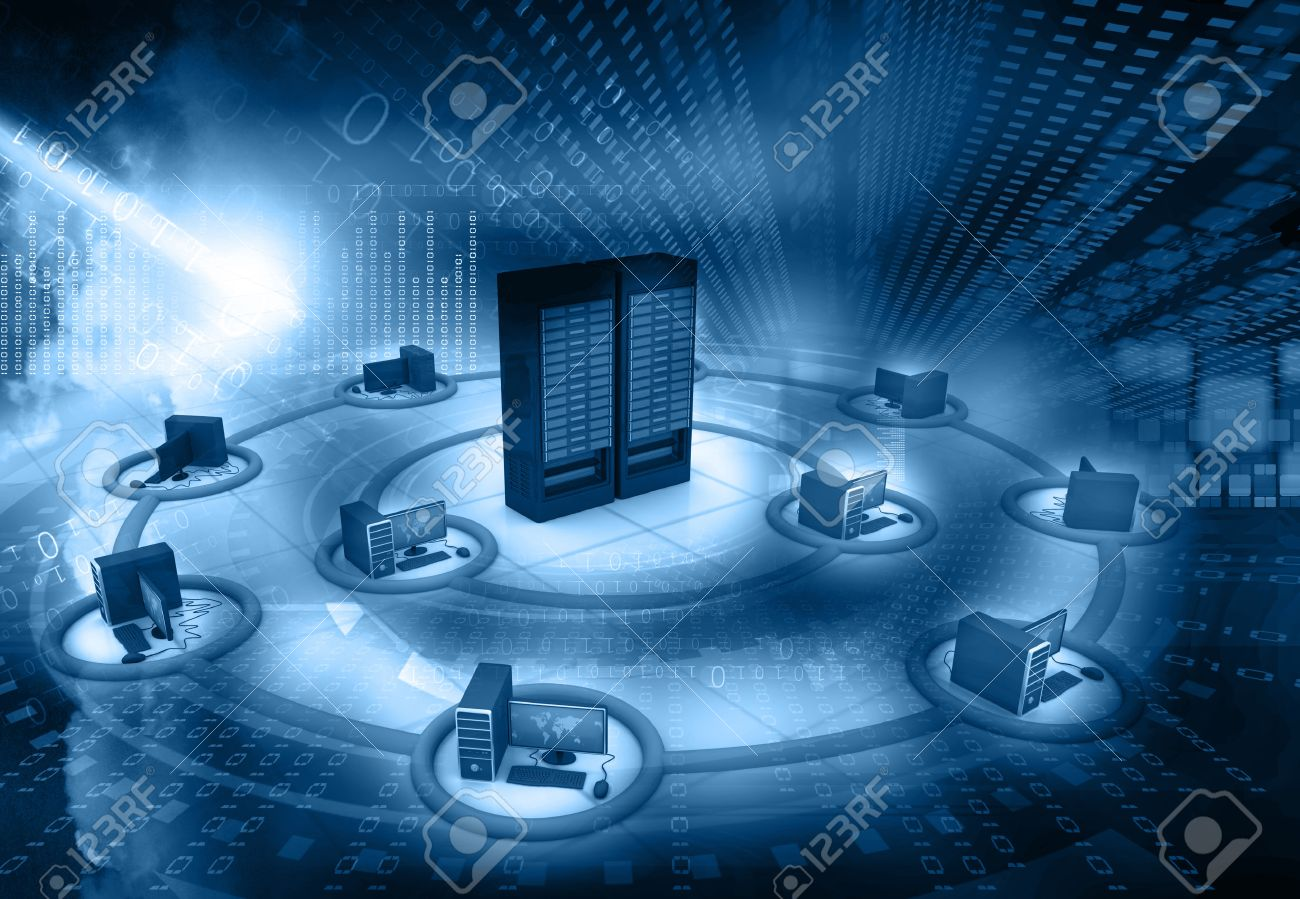 38437039-computer-network-and-internet-communication-concept-Stock-Photo